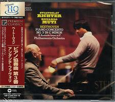 SVIATOSLAV RICHTER-BEETHOVEN: PIANO CONCERTO NO.3; ANDANTE...-JAPAN HQCD D20