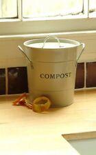 Garden Trading Argilla Cucina Compost Secchio - Ideale per Piano di Lavoro