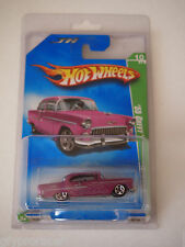 2009 Hot Wheels Treasure Hunt #10 '55 Chevy In protect o pack