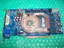 ASUS Nvidia GeForce 6800 512MB 128-Bit GDDR2 AGP 4X/8X Graphics Card, Win 7