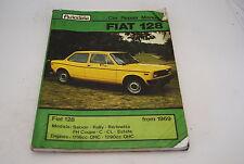 Autodata Coche Reparación Manual Fiat 128 1969-80