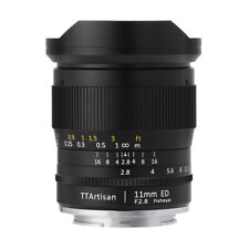 TTArtisans Fisheye11mm F2.8 Full Fame Lens Canon EOS R RF RP R5 R6 mount camera