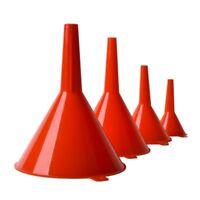 Tough Durable Plastic Funnel Set for Petrol Car Motorbike High Quality Funnel