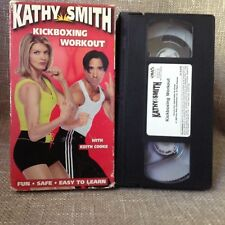 Kathy Smith Kickboxing Workout VHS Exercise Video Keith Cooke Abs Core Fit Train