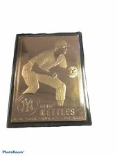 Graig Nettles New York Yankees 1996 Danbury Mint 22 Kt Gold Card 32