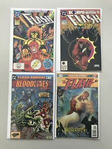 Lot 8 Flash Annual 4-10 Fastest Man Alive Green Lantern Brave Bold VF Very Fine