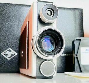 Agfa Microflex 100 sensor super 8 camera Film Tested / Fully Functional