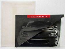 1999 Mazda Miata Sales Brochure with Foldaway and Onion Skin Envelope