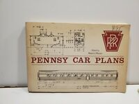 Pennsy Car Plans By Robert Wayner Soft Cover 1969  99 Pages