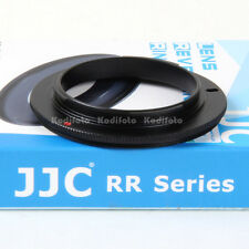 JJC RR-NEX Anillo Adaptador Inversor Macro Objetivos lentes 58mm Sony E-Mount
