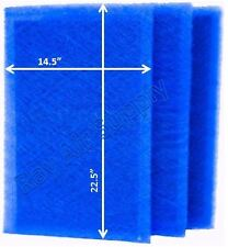 RayAir Supply 16x25 Pristine Air Cleaner Filter Replacement Pads (3 Pack)