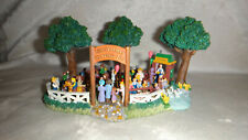 Rare Liberty Falls Collection Petting Zoo Figurine 2000