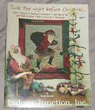 "'TWAS THE NIGHT BEFORE CHRISTMAS....""frm INDYGO  JUNCTION INC CHRITSMAS CRAFT #M"