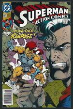 Dans superman action comics us DC Bande dessinée vol.1 # 681/'92