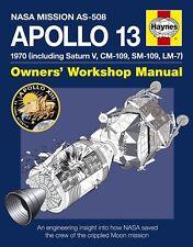 NASA Apollo 13 Manuale Haynes Moon Sbarchi Spazio H5387 NUOVO