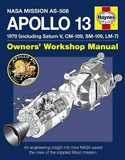 NASA Apollo 13 Haynes Manual Moon Landings Space H5387 NEW