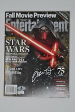 Adam Driver Autographed Signed Entertainment Weekly (EW) Magazine - Beckett BAS