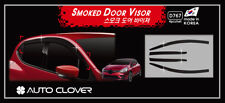 Autoclover Smoke Tinted Wind Deflectors 4p for 2013-2018 Renault Clio Hatchback