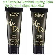 2 X Umberto Giannini Styling Balm Up Do 75ml Glam Hair NEW