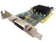 SFF / LOW PROFILE DUAL MATROX G550 32MB PCI G55MDDAP32DBF WITH VGA SPLITTER