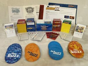 Board Game Replacement Cards & Instructions -Trivial Pursuit, Scene It