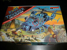 1/32 BLUE THUNDER APEX Fighter Helicopter by Monogram 1984 NICE!