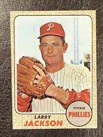 1968 Topps Larry Jackson #81 NM-MT Philadelphia Phillies Pitcher
