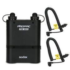 Godox PB960 Black Dual Output Flash Power Pack + BT5800 5800mAh Battery fr Canon