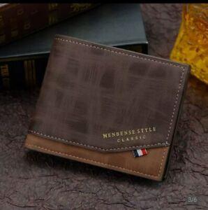 men's casuel business wallet New style luxury brand 2021 carteras nuevo estilo
