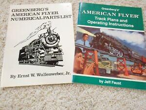 S SCALE AMERICAN FLYER BOOKS