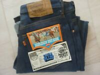 MADE IN USA LEVIS 517 Authentic 70's Vintage #8 Denim Jeans W33 Bootcut TALON 42