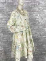 Gucci New 4 US 38 IT S Floral Cotton Summer Dress Runway Auth with Hanger