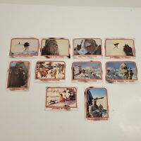 Lot of 10 Cards 1980 Topps Star Wars THE EMPIRE STRIKES BACK Series 1 #30-39
