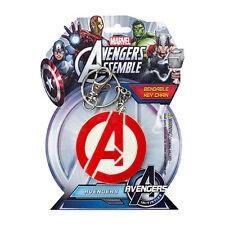 Avengers Logo 3-Inch Bendable Key Chain - *Ready to Ship