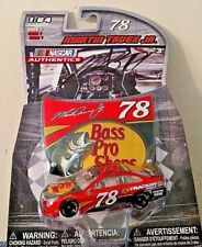 MARTIN TRUEX JR.2016 HAND SIGNED 1/64 #78 NASCAR AUTHENTICS BASS PRO SHOPS RARE!
