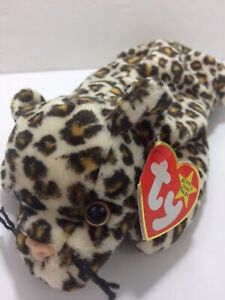 Ty Beanie Baby FRECKLES THE LEOPARD  6-3-1996 Style 4066 PVC NO STAR - errors