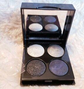 Bobbi Brown Onyx & Silver Eye Paint Palette Tinsel Silver Lava Blue Onyx Long