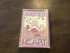 Vintage Mary Engelbreit Valentine assortment Boxed Cards With 16 Cards/envelopes