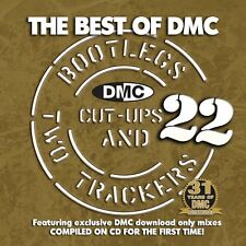 DMC lo mejor de DMC los bootlegs Corte UPS & 2 rastreadores Vol 22 CD DE DJ Mixmash