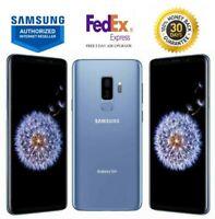 SAMSUNG GALAXY S9+ PLUS SM-G965U CORAL BLUE 64GB VERIZON UNLOCKED T-MOBILE AT&T