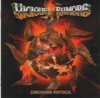 VICIOUS RUMORS - CONCUSSION PROTOCOL (2016) CD Jewel Case+FREE GIFT Power Metal