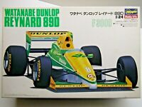 Hasegawa 1:24 Scale Watanabe Dunlop Reynard 89D F3000 Model Kit - Used - # 23008