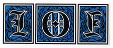 101 Skateboard Heritage Logo Adesivo-natas kaupus SPEDIZIONE GRATUITA skate CLICHE