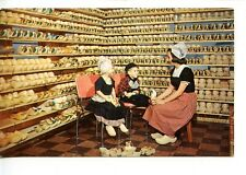 Wooden Shoe Factory-Dutch Costumes-Holland-Michigan-Vintage Advertising Postcard