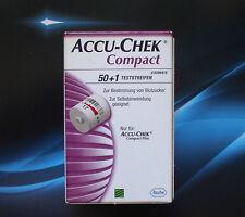 Compact ACCU-CHEK 51 pezzo di sensori-test strisce * RIVENDITORE Roche ° NUOVO *