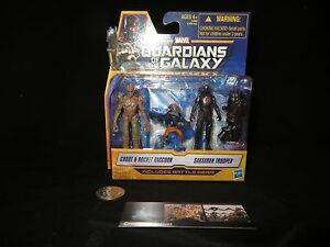 Marvel Guardians of the Galaxy Groot & Rocket Raccoon & Sakaaron Trooper New toy