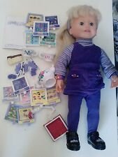 "Amazing Ally 18"" Interactive Doll with accesories (Used)"