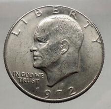 1972  President Eisenhower Apollo 11 Moon Landing Dollar USA Coin  i46149