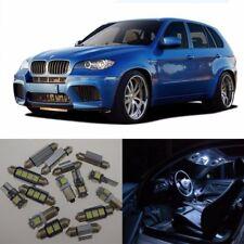 21×White LED Interior Light Package Kit Error Free for BMW X5 E70 2007-2013