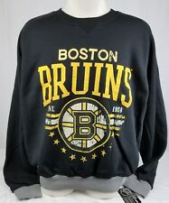 Brand New G-III NHL BOSTON BRUINS Sweater Pull Over - SIZE XL